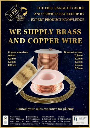 CPM Brass Wire Promo Flyer 2021