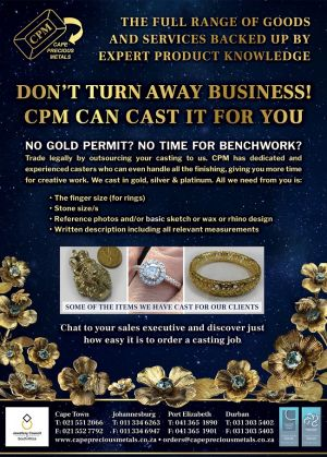 CPM Finished Casting Flyer