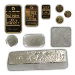 Bullion Bars & Medallions