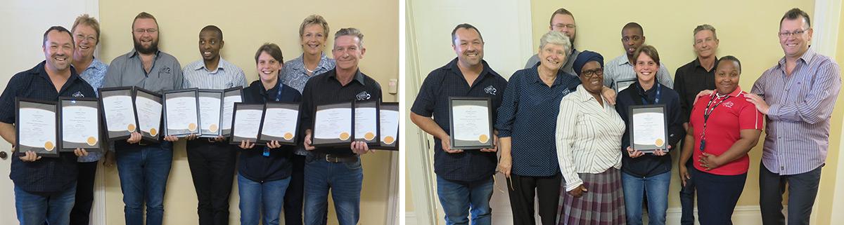 CPM JCSA Certifications Durban 2