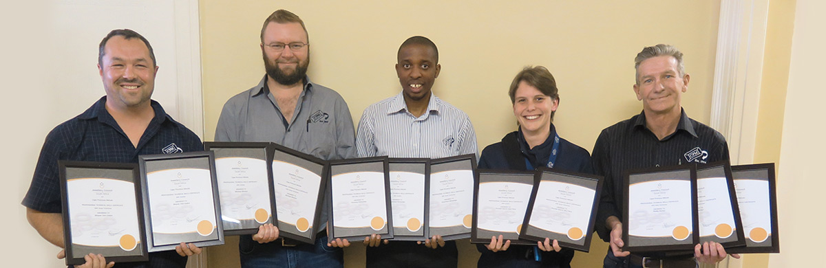 CPM JCSA Certifications Durban