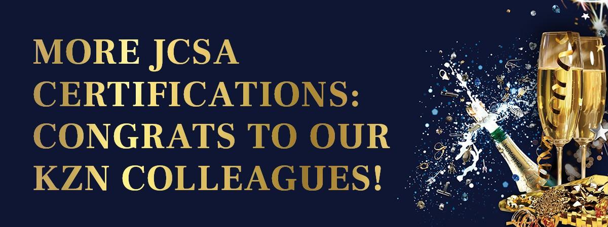 CPM JCSA Certifications