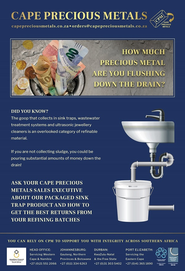 CPM Sink Trap Advert