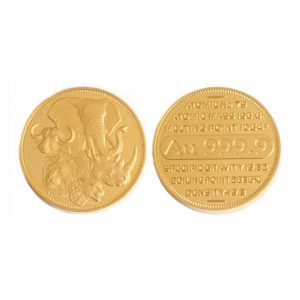 GCOIN100 - 100g Fine Gold Medallion