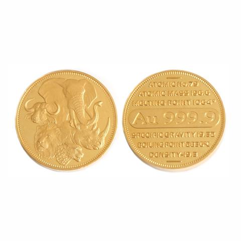 GCOIN100 - 100g Fine Gold Medallion